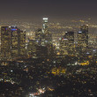 Stock Photo: Hazy Los Angeles Night