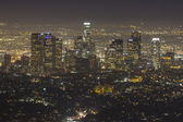 Hazy Los Angeles Night — Stock Photo