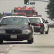 Stock Video: Emergency Response - LAPD editorial clip
