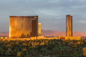 Wynn Resort Sunrise — Stock Photo