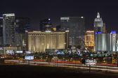 Las Vegas Strip and Traffic — Stock Photo