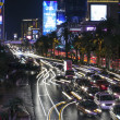 Stock Photo: Las Vegas Strip Traffic
