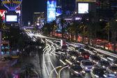 Las Vegas Strip Traffic — Stock Photo