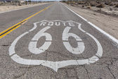VIntage Route 66 Highway Sign — Stock Photo