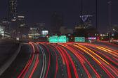 Atlanta Interstae 85 Night — Stock Photo