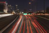 Atlanta Interstate 75 and 85 Freeways  — Stock Photo
