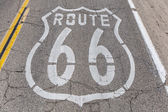 Route 66 Pavement  — Stock Photo