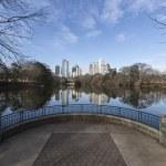 Atlanta Piedmont Park Cityscape — Stock Photo