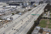 San Diego Freeway Aerial — Stock Photo