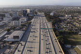 San Diego 405 Freeway Aerial — Stock Photo