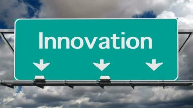 Freeway to Innovation — Vídeo de stock