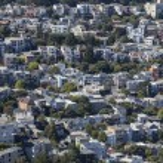 San Francisco Hillside Neighborhood — Stock Photo #49544489