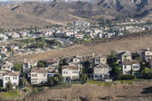 California Hillside Suburbia — Stock Photo
