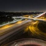 Sunset Blvd at the San Diego Freeway Night — Stock Photo #51787615