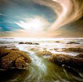 Oleada de agua — Foto de Stock