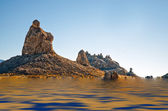 天然碱品尼高水 — 图库照片