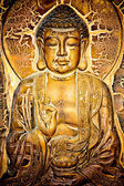 Buddha Mural — Stock Photo