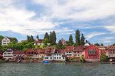 View of Stein Am Rhein. Switzerland. Europe — Stock Photo