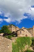 Ruinerna av det gamla slottet. europa. baden-baden. — Stockfoto