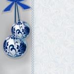 Palle di Natale — Vettoriale Stock