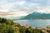 Lake Lugano. Switzerland. Europe. — Stock Photo