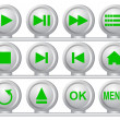 Royalty-Free Stock Photo: Collection of buttons