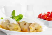 Cabbage rolls with rice and meat — Foto de Stock