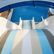 Stock Photo: Water slide in waterpark.