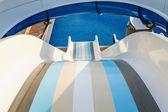 Water slide in the waterpark.  — Stock Photo
