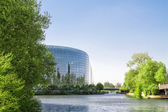 Strasbourg, France. The building houses the Chamber of Parliamen — Stock Photo
