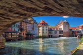 "Strasbourg. District ""little France"" Frantsiya.Evropa. — Stock Photo"