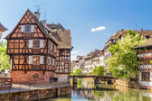 House tanners, Petite France district. Strasbourg, France  — Stock Photo