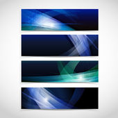 Vector Abstract Header Background. — Stock Vector