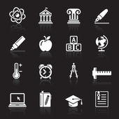 Education Icons set . Vector Illustration. — Stock Vector
