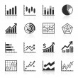 Stock Vector: Business Infographic icons - Vector Graphics