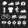 Travel icons set4. vector eps 10 — Vettoriali Stock