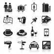 Travel icons set2. vector eps 10 — Stock Vector