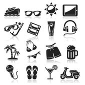 Travel icons set3. vector eps 10 — Stock Vector