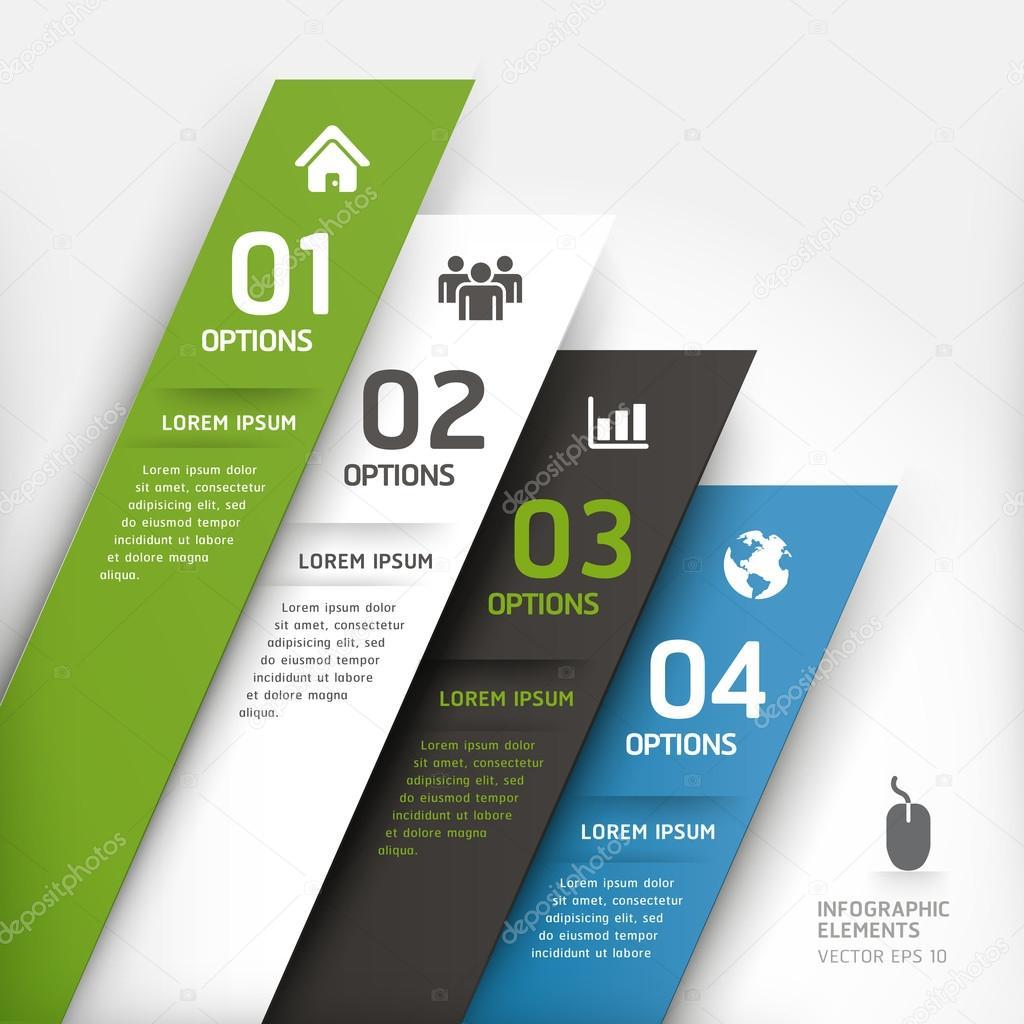 Modern Design Element Template Stock Vector