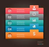 Modern infographics — Stock Vector