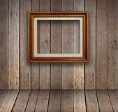 Sala de madera antigua — Foto de Stock