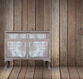 Vintage wooden table — Stock fotografie