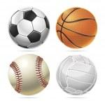 Sport balls. — Stock Vector #42547685