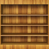 Book Shelves — Foto Stock