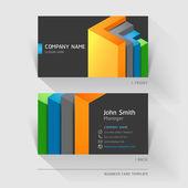 Business card — Wektor stockowy
