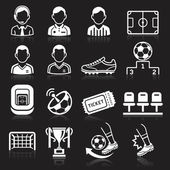 Soccer icons — Vetorial Stock
