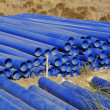 Plastic pipes — Stock Photo