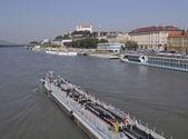Danube river, Bratislava, Slovakia — Stock Photo