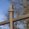 Stock Photo: Wooden cross