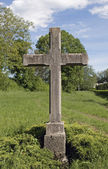 Stone cross — Foto Stock